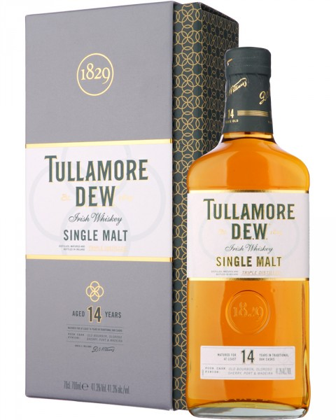 Tullamore Dew Single Malt 14 Jahre Irish Whiskey 0,7l