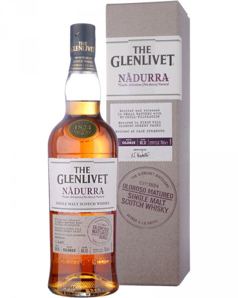 The Glenlivet Nadurra Cask Strength Oloroso 0,7l