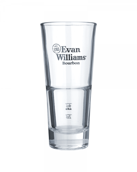 Evan Williams Whiskey Longdrink Glas