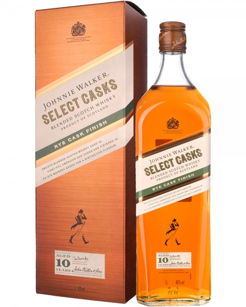 Johnnie Walker 10 Years Old Select Casks Rye Cask Finish 1,0l