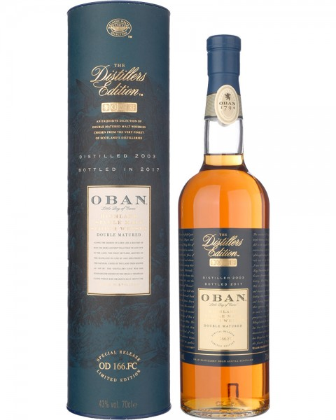Oban Distillers Edition 2003-2017 0,7l
