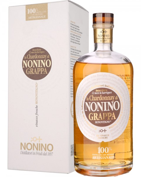 Nonino Grappa Chardonnay in Barriques in GP 0,7l