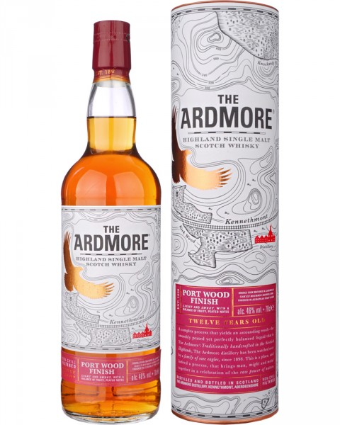 Ardmore 12 Jahre Port Wood Finish 0,7l