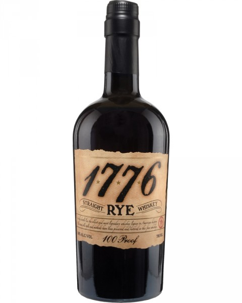 1776 Straight Rye Whiskey 0,7l
