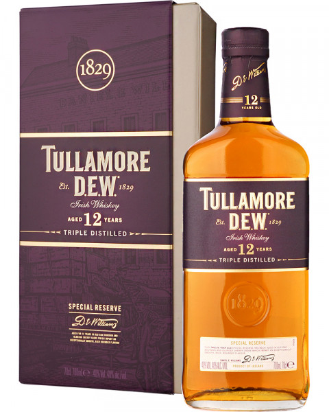 Tullamore Dew Special Reserve 12 Jahre Irish Whiskey 0,7l