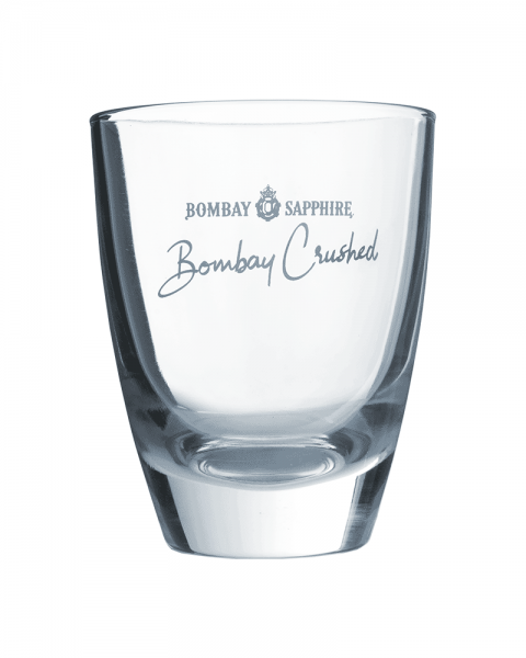 Bombay Sapphire Gin Crushed-Glas