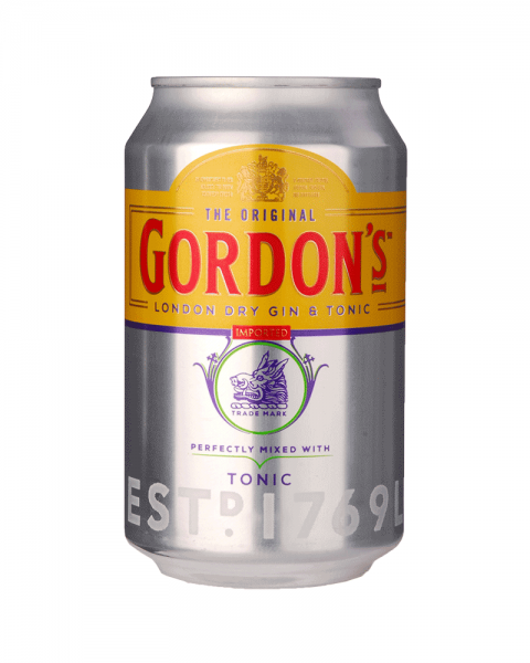 Gordon´s London Dry Gin & Tonic Dose 0,33l