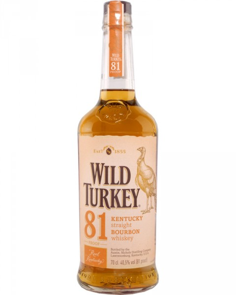 Wild Turkey Bourbon 81 Proof 0,7l
