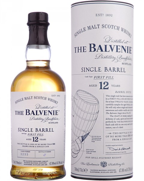 Balvenie 12 Jahre Single Barrel First Fill 0,7l