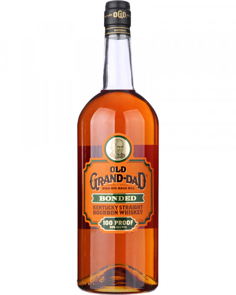 Old Grand Dad Bonded 100 Proof High Rye Mash Bill 1,0l