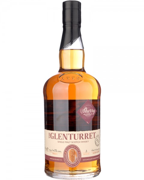 Glenturret Sherry Cask Edition Batch 3 0,7l