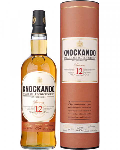 Knockando 12 Jahre Single Malt Scotch Whisky 0,7l