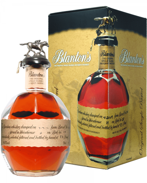 Blantons Original Single Barrel Bourbon Whiskey 0,7l