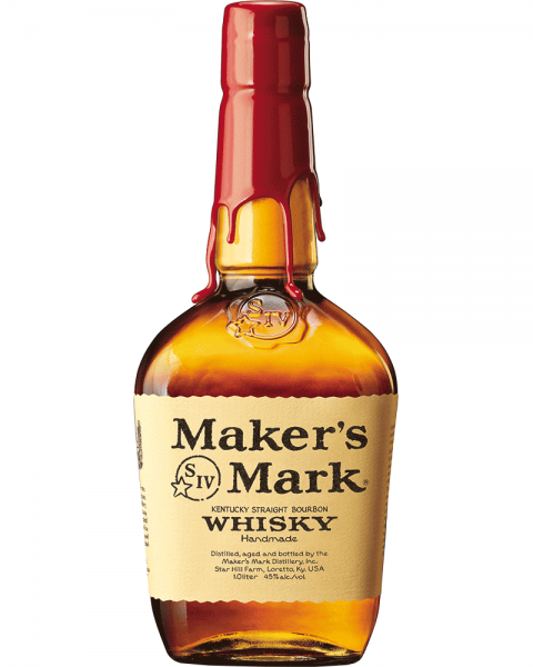 Makers Mark Bourbon Whiskey 1,0l