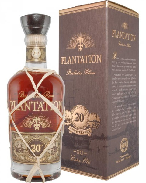 Plantation Barbados XO Extra Old 20th Anniversary 0,7l