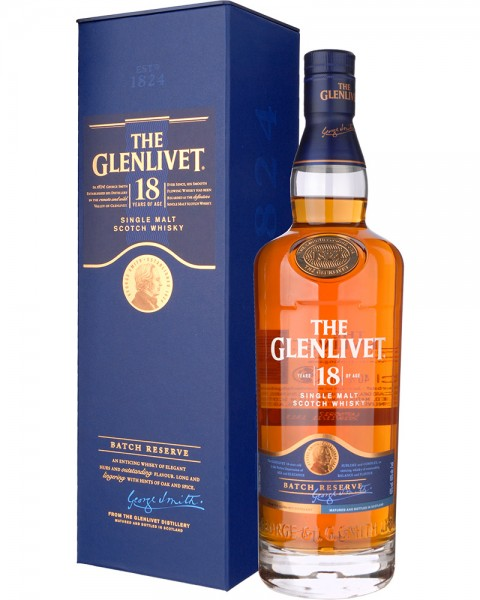 The Glenlivet 18 Jahre 40%vol 0,7l