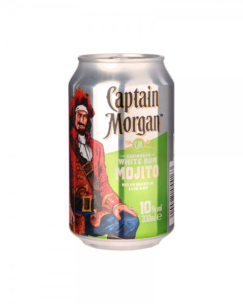 Captain Morgan White Mojito Dose (EINWEG) 0,33l