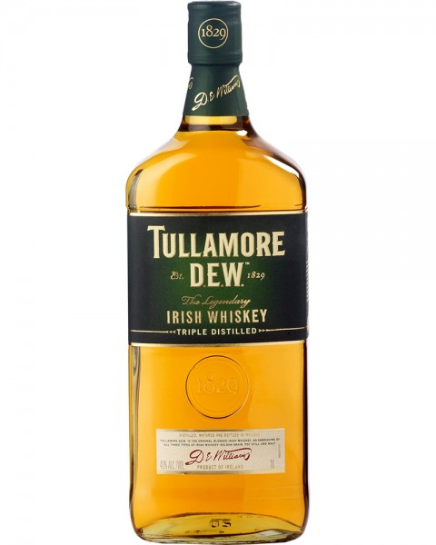 Tullamore Dew Irish Whiskey 1,0l