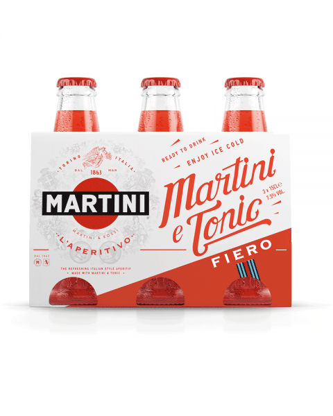 Martini Fiero & Tonic 3er Pack 0,45l