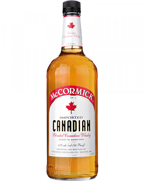 McCORMICK Blended Canadian Whisky 1,0l
