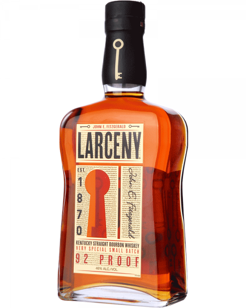 Larceny Kentucky Straight Bourbon Whiskey 92 Proof 0,7l