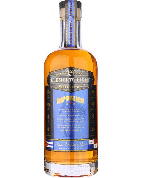 Elements 8 REPUBLICA Small Batch Artisan Rum 0,7l