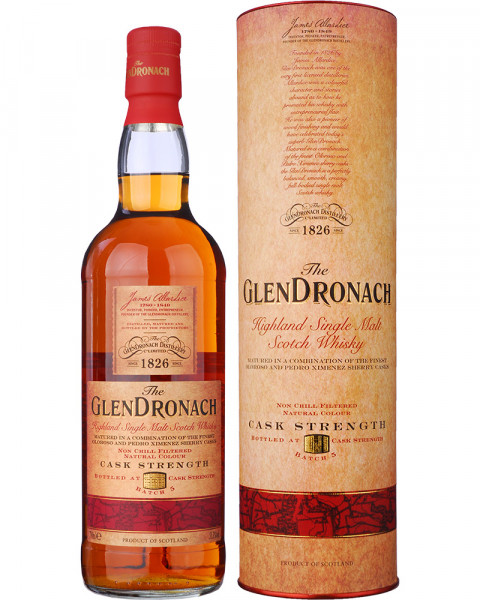 Glendronach Cask Strength Batch 5 0,7l