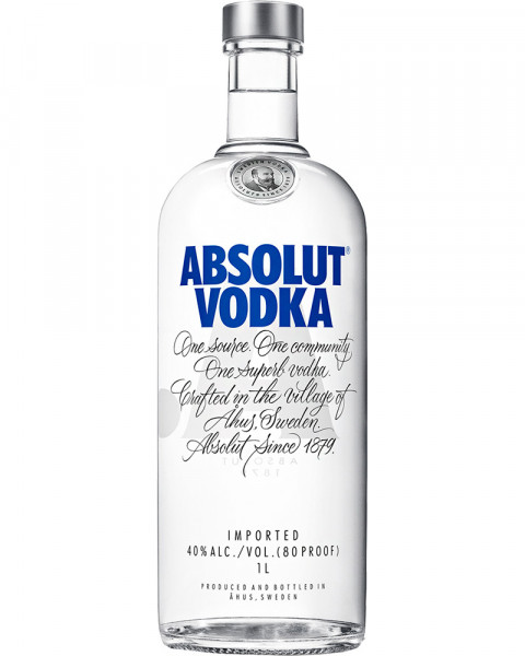 Absolut Vodka Blue 1,0l