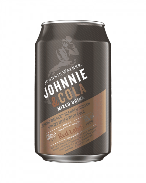 Johnnie Walker Whisky & Cola Dose (EINWEG) 0,33l
