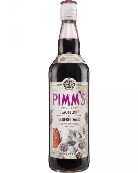 Pimms Special Edition Blackberry & Elderflower 0,7l