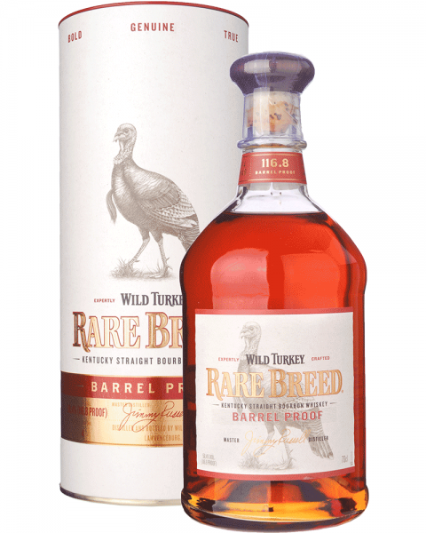Wild Turkey Rare Breed Barrel Proof 58,4 Bourbon Whiskey 0,7l