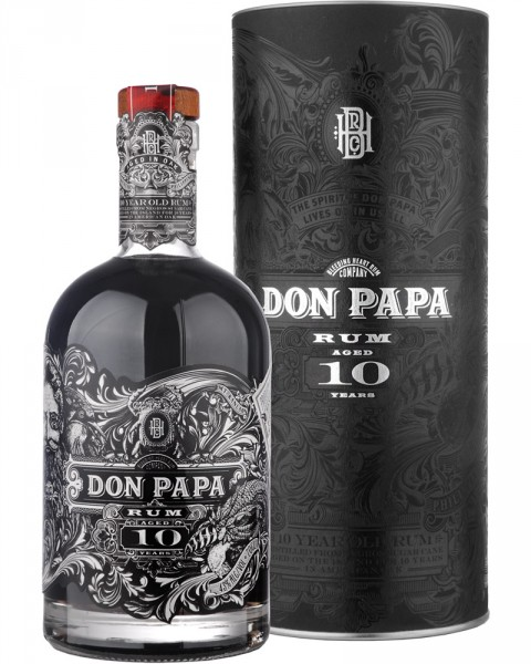 Don Papa 10 Jahre - Limited Edition 0,7l