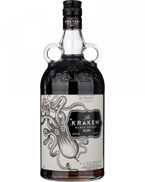 Kraken Black Spiced Rum 47%vol. 1,0l