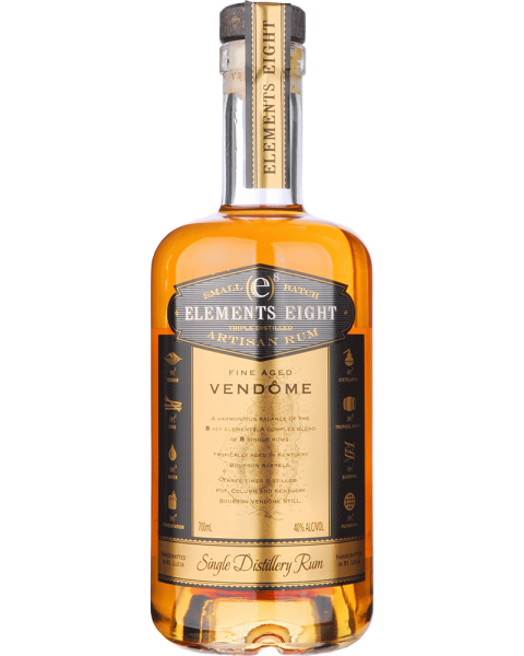 Elements 8 Fine Aged VENDOME Small Batch Rum 0,7l