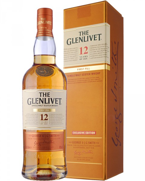 The Glenlivet 12 Jahre First Fill 0,7l