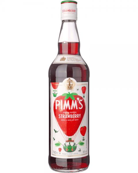 Pimms Special Edition Strawberry & Mint 0,7