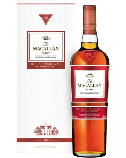 Macallan Ruby - 1824 Series 0,7l