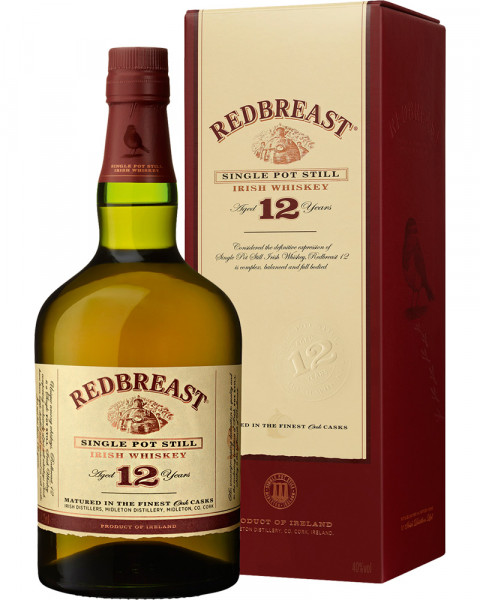 Redbreast 12 Jahre Single Malt Irish Whiskey 0,7l