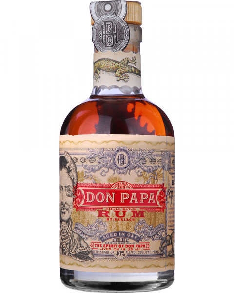 Don Papa 7 Jahre - Small Batch Rum 0,2l