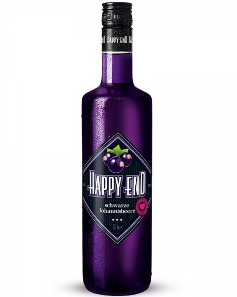 Happy End Schwarze Johannisbeere 0,7l