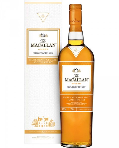Macallan Amber - 1824 Series 0,7l