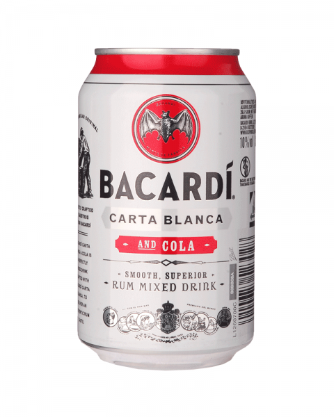 Bacardi and Cola Dose (EINWEG) 0,33l
