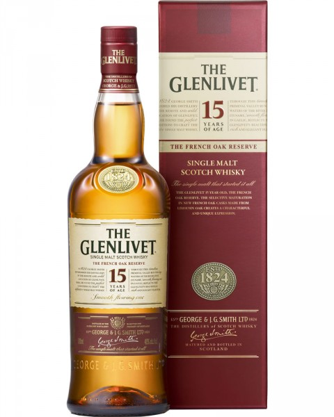 The Glenlivet 15 Jahre French Oak 40%vol. 0,7l