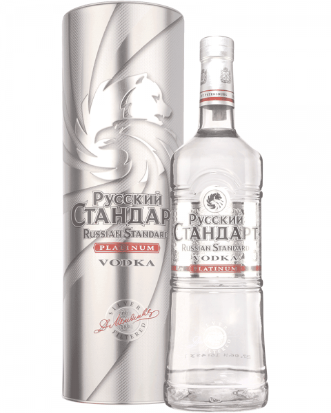 Russian Standard Platinum in Metalldose 1,0l