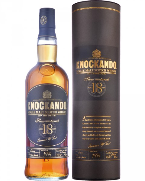 Knockando 18 Jahre Single Malt Scotch Whisky 0,7l
