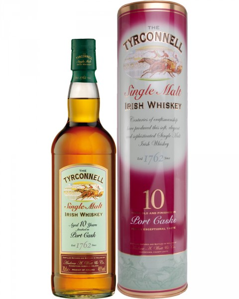 Tyrconnell 10 Jahre Single Malt Old Port Finish 0,7l