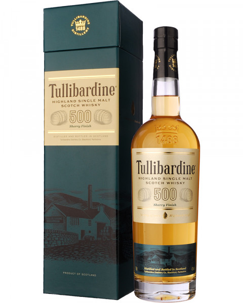 Tullibardine 500 Sherry Finish 0,7l