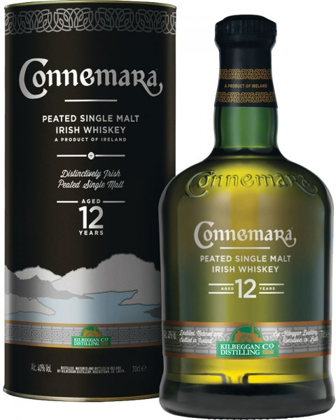 Connemara 12 Jahre Single Malt Tube 0,7l