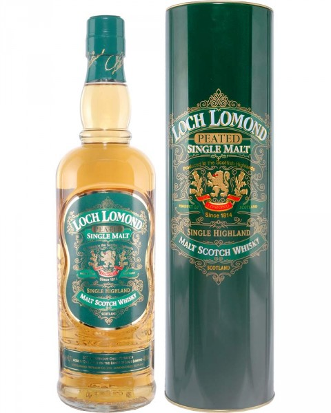 Loch Lomond Peated Malt Whisky 0,7l