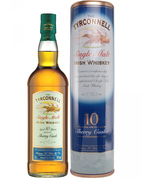 Tyrconnell 10 Jahre Single Malt Old Sherry Finish 0,7l